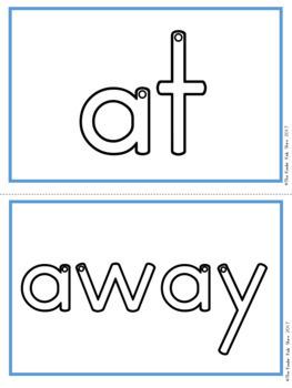 Sight Words Pre-Primer Words