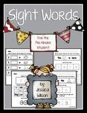 Sight Words PreK Pack