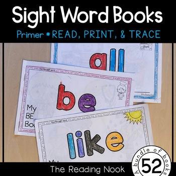 Sight Words - Primer Interactive Books