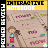 Sight Words Interactive Notebook: Primer Review