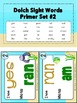 Sight Words Primer Level Dolch Word List - I Have... Who Has? Game