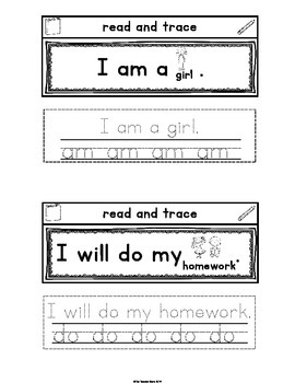 Sight Words Primer Set 4 Interactive Notebook (be, have, am, do)