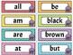 Sight Words Primer {Word Wall Cards , Alphabet Cards, Prac