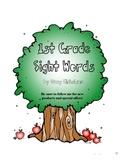 Sight Words Quick Assessment - 1st grade