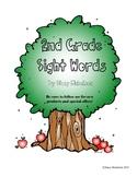 Sight Words Quick Assessment - 2nd grade - FREEBIE!