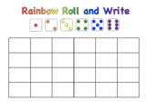 Sight Words Rainbow Roll and Write