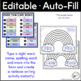 Sight Words Rainbow Writing (Editable)