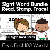Sight Words - Read, Stamp, Trace BUNDLE!