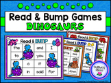 Sight Words: Read and Bump Games - Dinosaurs {Pre-Primer a
