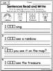 Sight Words Read and Write Sentences Pre-Primer Edition