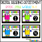 Sight Words Reader Levels 1-4