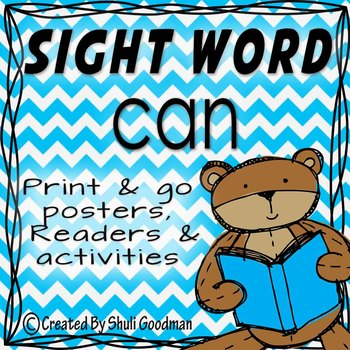 Sight Words - Readers and more - can