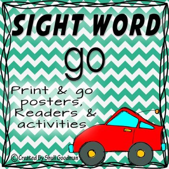 Sight Words - Readers and more - go