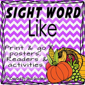 Sight Words - Readers and more - like