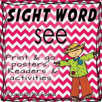 Sight Words - Readers and more - see