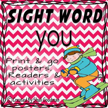 Sight Words - Readers and more - you