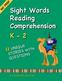 Distance Learning - Sight Words Reading Comprehension for