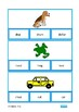 Reading Nouns, Visual Clip Cards, Autism Special Education Vocabulary