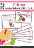Sight Words Fluency Strips (Primer)
