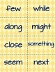 Sight Words Right Left Center Game