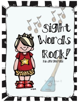 Sight Words Rock!- Kindergarten