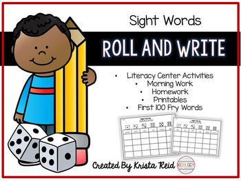 Literacy Center - Games - Activities - Sight Words