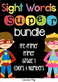 Sight Words SUPER BUNDLE