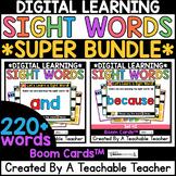 Sight Words SUPER BUNDLE | 220 Sight Word Lessons & Practice for Google Slides™️