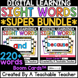Sight Words SUPER BUNDLE | 220 Sight Word Lessons & Practi