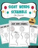 Sight Words Scramble - Words From the First 100