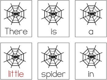 Sight Words Scrambled Sentences (Dolch Pre-Primer Words Set)