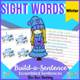 Sight Words Scrambled Sentences {Winter-Related} 1st-3rd Grades