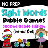 Dolch Sight Words Second Grade List Games for Centers or Homework