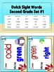 Sight Words Second Grade Level Dolch Word List - I Have...