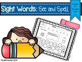Sight Words: See and Spell (Dolch 2nd Grade List)