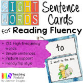 Sight Words Sentence Cards for Reading Fluency