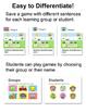 Build Sentences Sight Words Game with Primer Words - Smartboards & Tablets