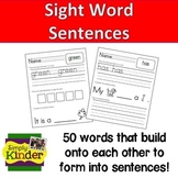 Sight Word Practice Cut-And-Paste Printables