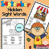 Sight Words {September Edition}