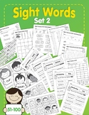 Sight Words: Set 2: 51-100