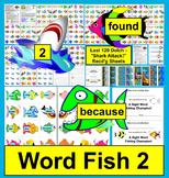 Sight Words Magnetic Shark Attack-Level 2  Last 120 Dolch Words Common Core