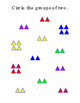 Sight Words Short Story Triangles Cut Out Matching Game Literacy Trace Write 4pg