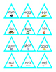 Sight Words Short Story Triangles Cut Out Matching Game Li