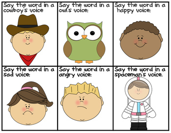 Sight Words: Silly Voice Fun Sight Word Game Words Fry 101-200
