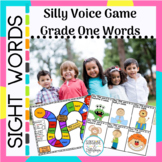 Sight Words:Silly Voice Game Grade 1 Dolch Words (Common Core)