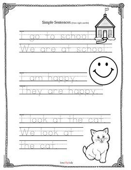 Sight Words & Simple Sentences