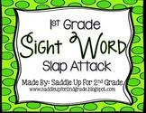 Sight Words Slap Attack: 1st Grade Dolch Sight Words
