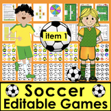 Soccer Sight Words Center  - Last 128 Dolch - Grades 1, 2 & 3 Words