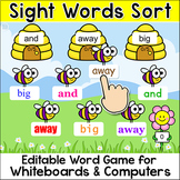Sight Words Sorting Game - Word Work Game for SmartBoards