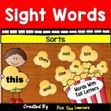 Sight Words Sorting Scrambled Sentences Alphabetizing Acti